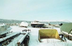 Harbour in Narvik Norway