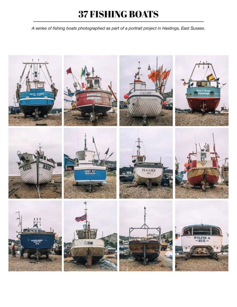 37 FISHING BOATS