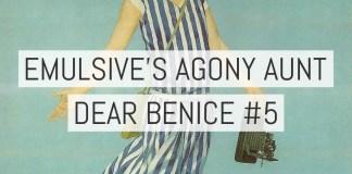 Dear Benice 5: Monkey see, monkey don't