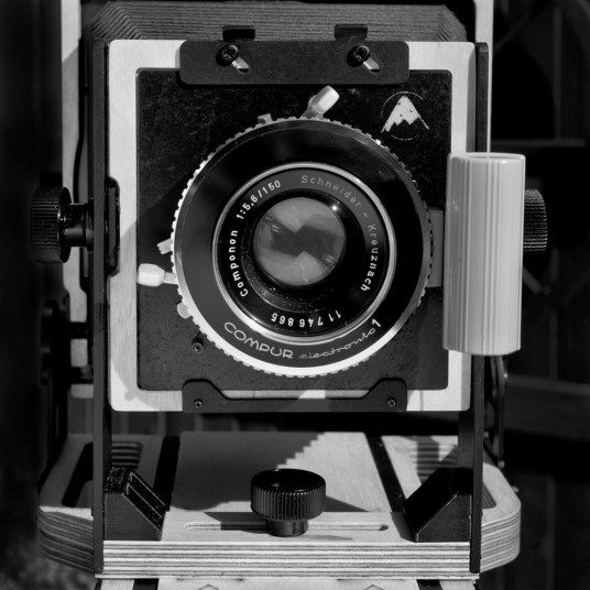 Intrepid 4x5 - front standard