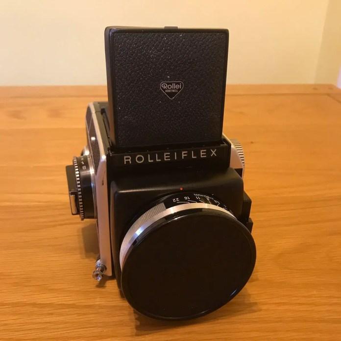 Rolleiflex SL66 - Front