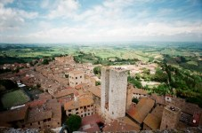 San Giamano: Climbed a tower. Am so in love with this view.