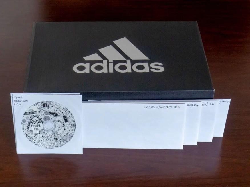 Shoebox and envelope storage system