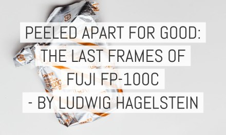 Peeled apart for good: The last frames of FUJI FP-100C or, the creative obligation not to f**k it up – by Ludwig Hagelstein