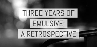 Cover - Three years of EMULSIVE