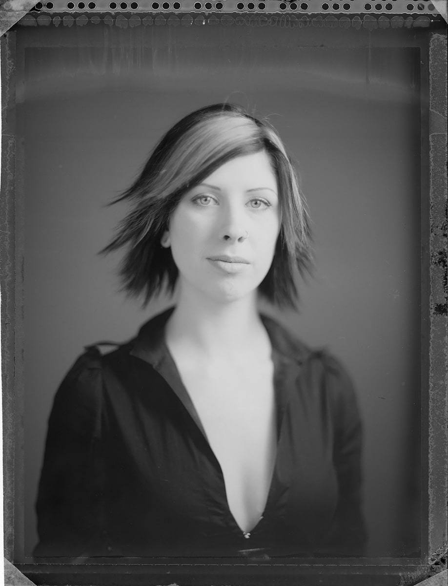 Mya - Polaroid Type 55 (from negative)