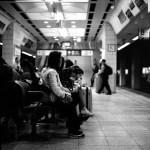 Waiting time - Shot on Kodak Tri-X 400 at EI 800. Black and white negative film in 120 formatshot as 6x6.