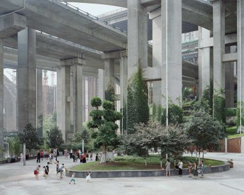 Egongyan Park, Chongqing, China, 2017 - From Forest series