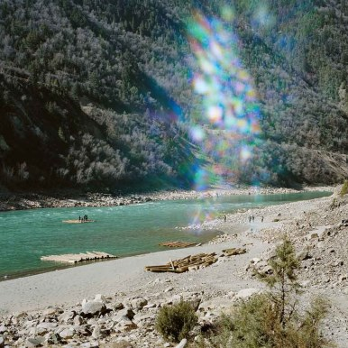 Y13: 1,200km from the river source. From Mother River series