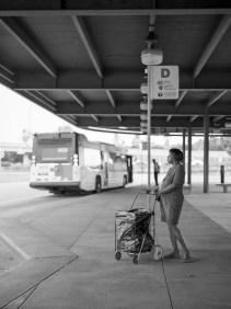 Eastwood Metro Station - Fuji GS645 - Kodak Tri-X 400