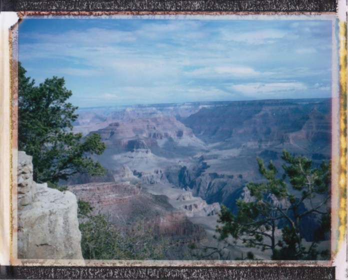 Grand Canyon - Polaroid 230 Land Camera and FP-100C
