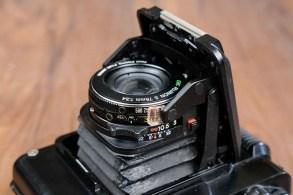Fuji GS645 - Lens