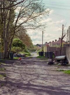 Kodak Portra 400 - Lancaster back street