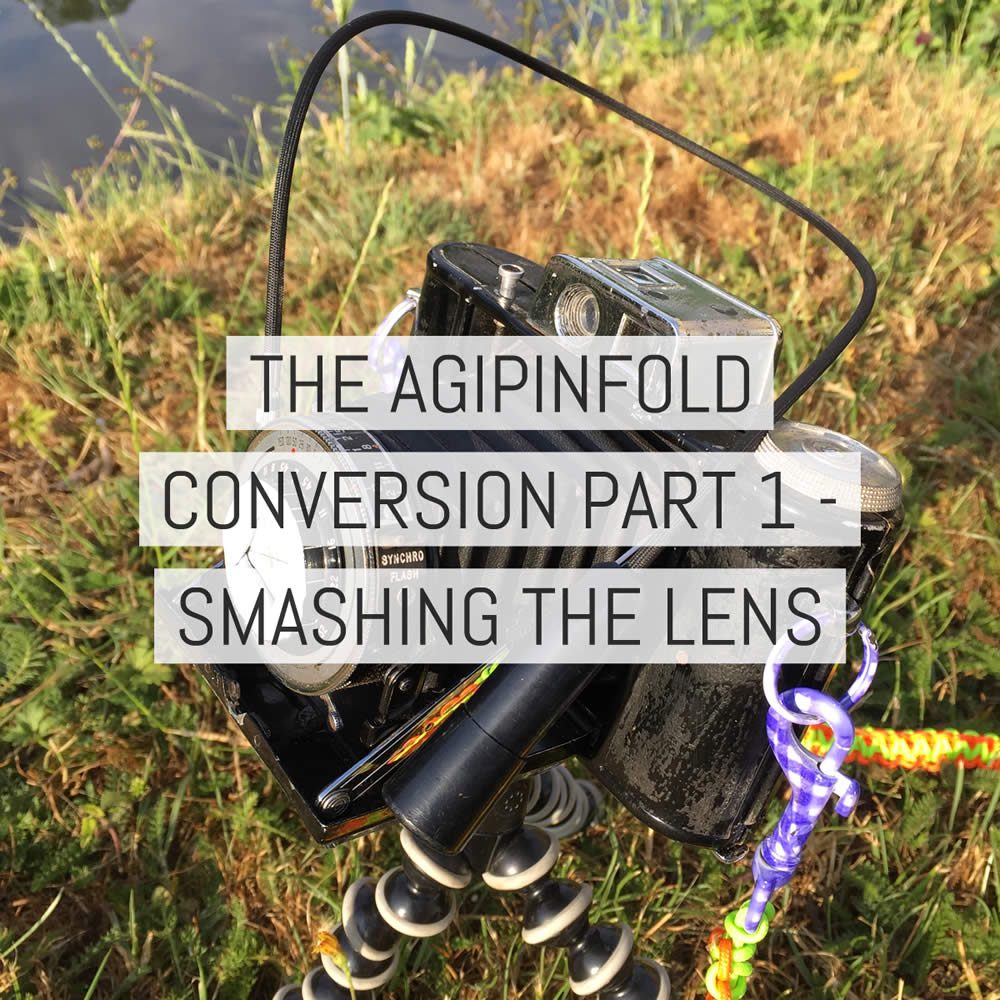 The AgiPinFold conversion part 1 - Smashing the lens