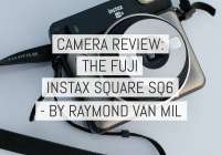 Camera Review - Fuji Instax SQUARE SQ6 camera