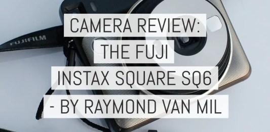 Camera Review - Fuji Instax SQUARE SQ6 camera