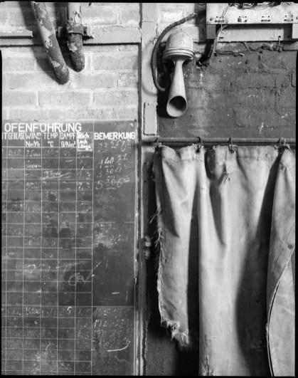 Detail at former steel works, Schneider Symmar 150mm, Ilford HP5+ in HC-110 B