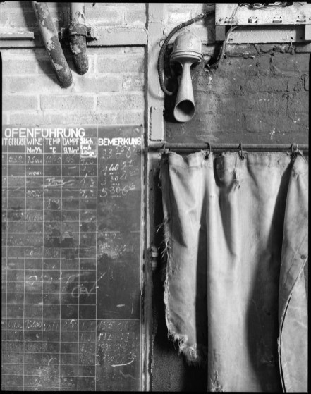 Detail at former steel works, Schneider Symmar 150mm, Ilford HP5+ in HC-110 B