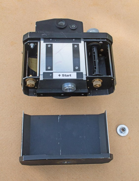 The Nameless Camera - Back removed