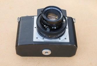 The Nameless Camera - Base plate