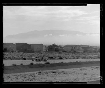 Kodak Verichrome Pan 100 - CAMERADACTYL 4x5 - Albuquerque subdevelopment, west mesa