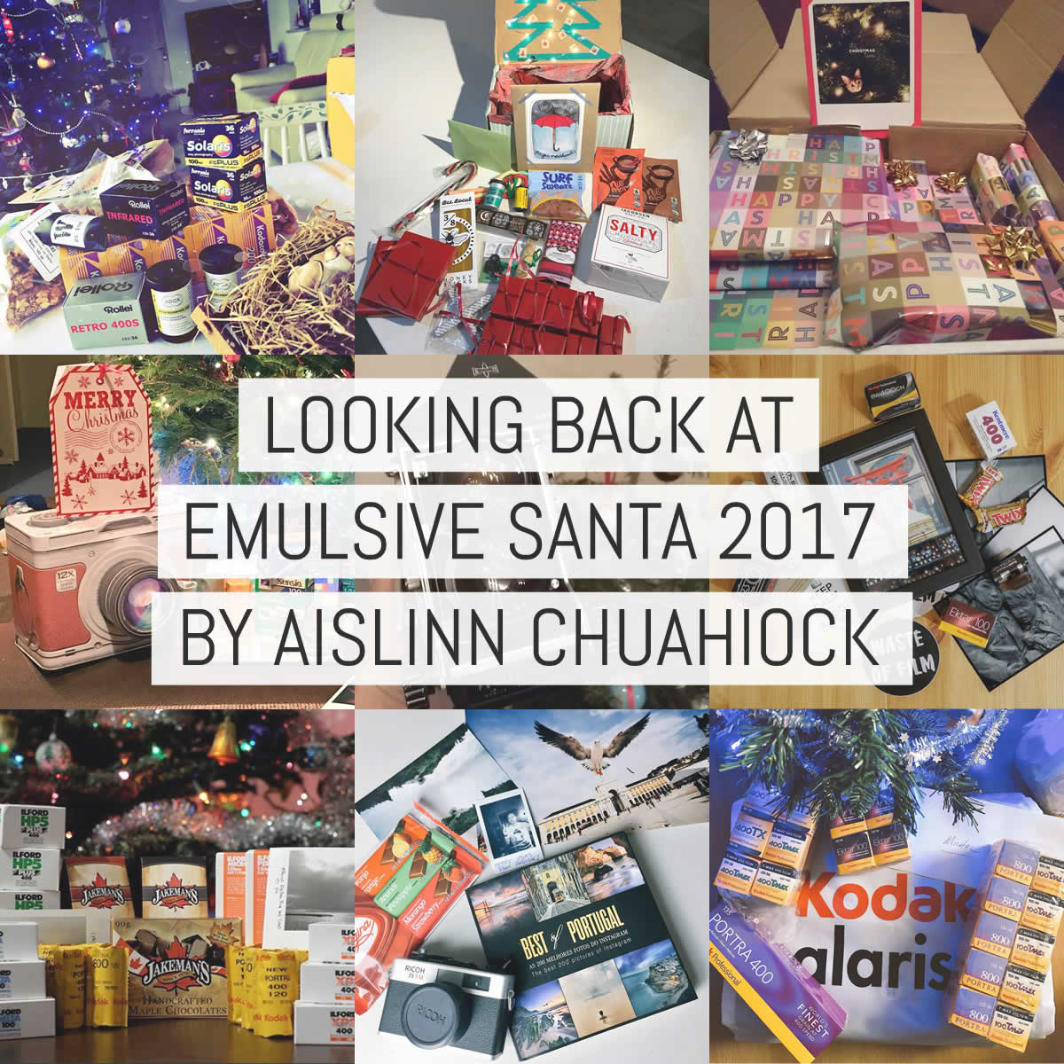 A look back at EMULSIVE Secret Santa 2017 - by Aislinn Chuahiock