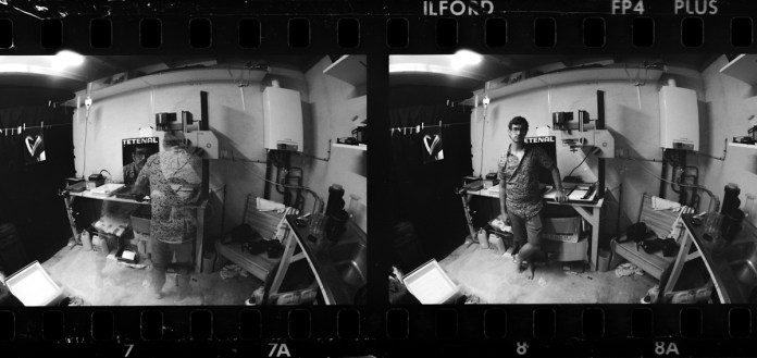 Darkroom - Nikon F3 - Zenitar 2.8 16mm - ILFORD FP4, PLUS EI 500, Ultrafin T-Plus at 22 degrees