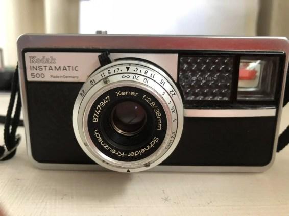 Kodak Instamatic 500 - Front