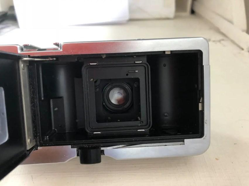 Kodak Instamatic 500 - Rear