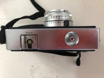 Kodak Instamatic 500 - Top down