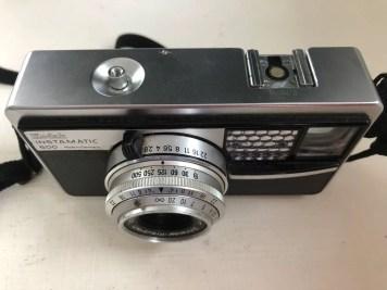 Kodak Instamatic 500 - Top