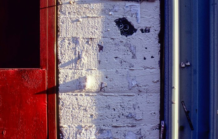 Tricolore #02 - Shot on Fuji Velvia 100 (RVP100) at EI 100. Color reversal (slide) film in 35mm format.