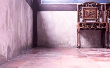 Waiting area - Shot on Kodak EKTACHROME 200 E200 at EI 200. Color reversal (slide) film in 120 format shot as 6x6.