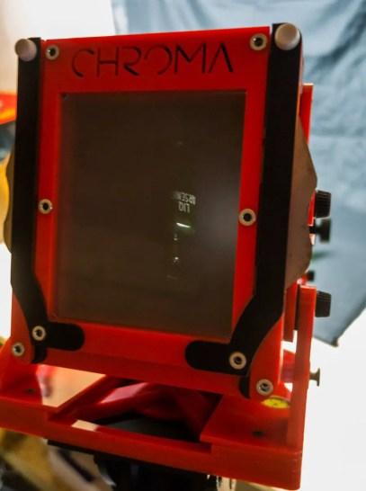 Chroma 4x5 review - Ground Glass