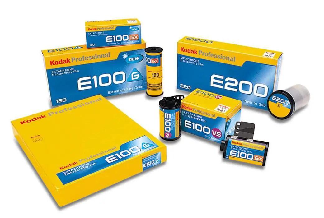 1977 - Kodak EKTACHROME E100 series + E200