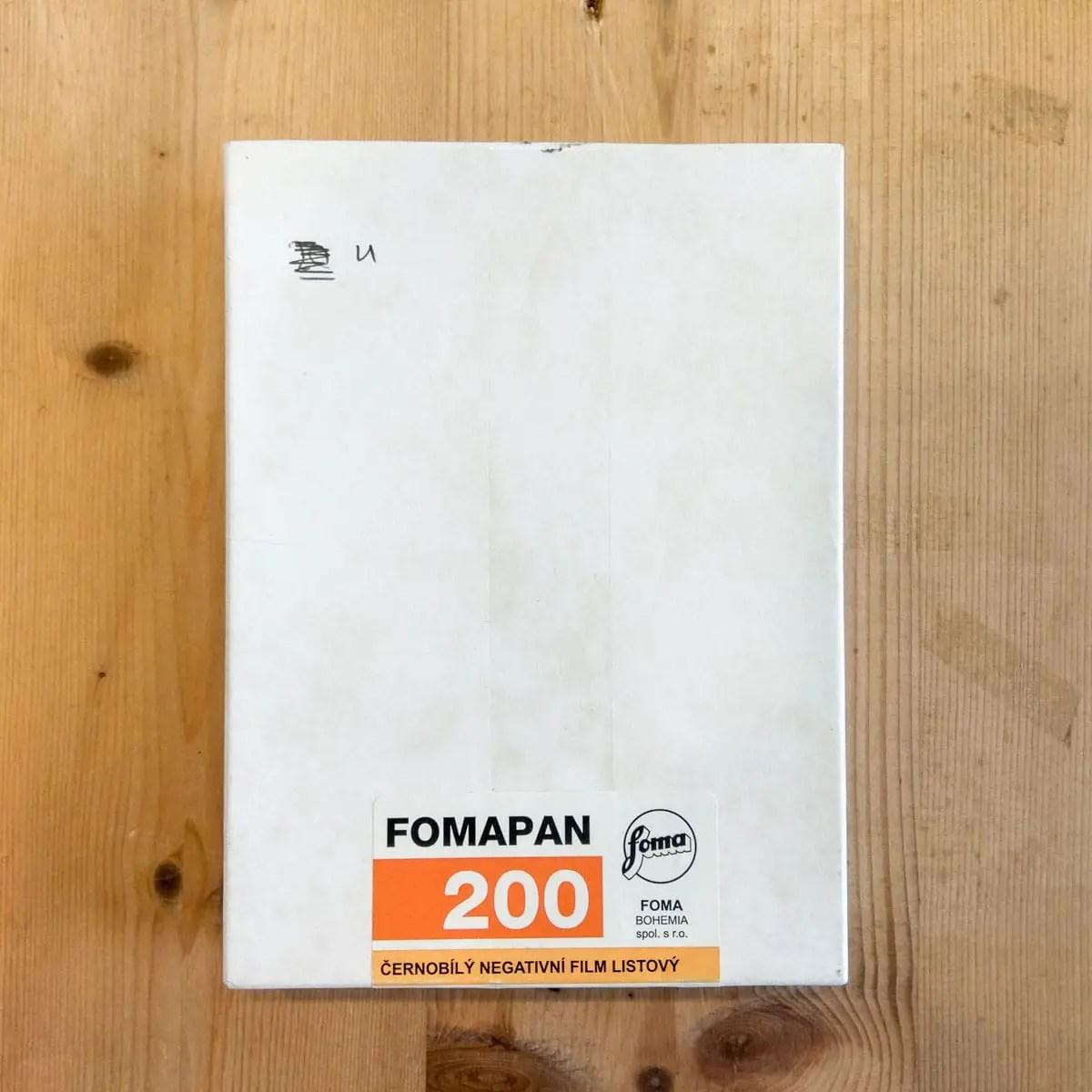 Fomapan Creative 200 4x5