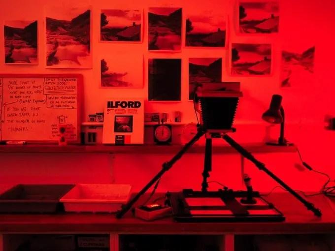 Intrepid Enlarger in the darkroom