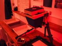 Intrepid Enlarger in the darkroom