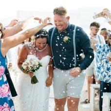 Just married - Aidan and Becca's wedding - Kodak Portra 400 - Ted Smith