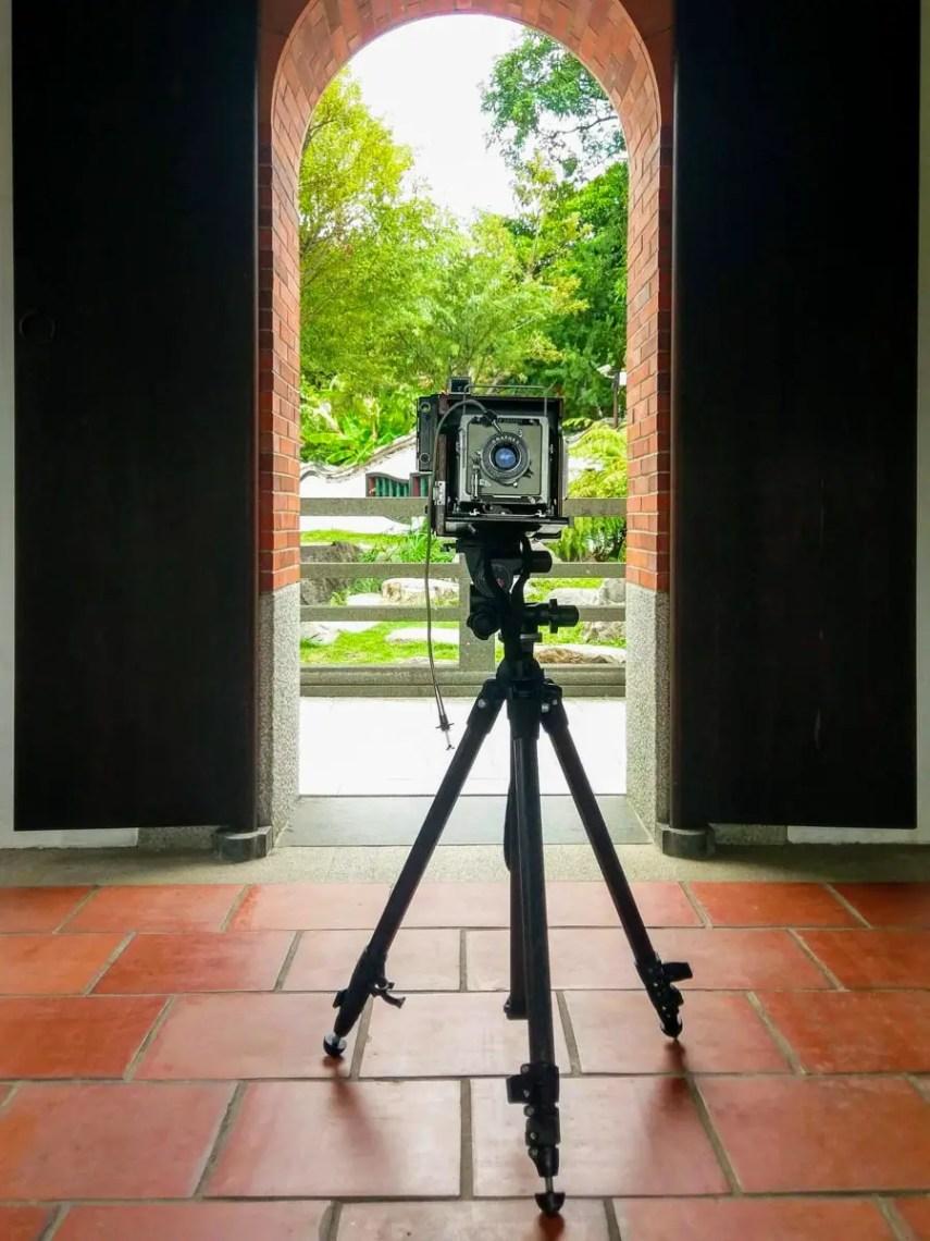 The AEROgraphic, Graflex Optar 135mm f/4.7, Manfrotto Carbon One 441