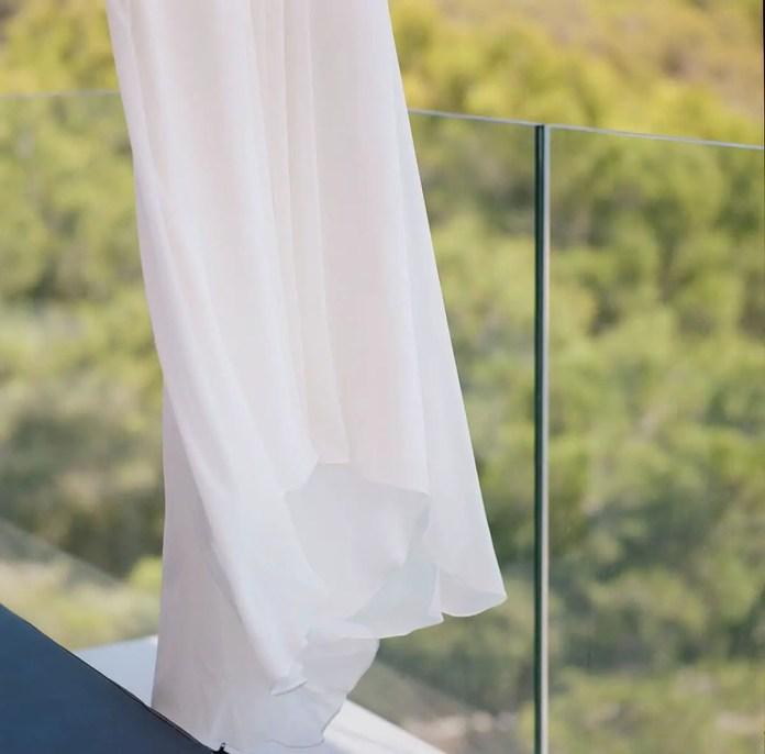 The dress - Aidan and Becca's wedding - Kodak Portra 400 - Ted Smith 01