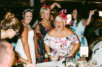 The reception - Aidan and Becca's wedding - Kodak Portra 400 - Ted Smith