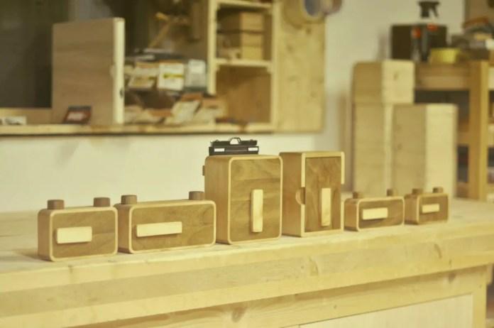 The first line of ONDU Pinhole cameras, April 2013