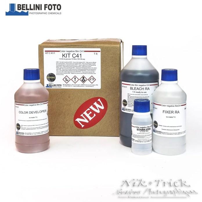 BelliniFoto Monopart 1lt C-41 Kit