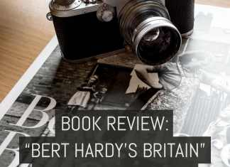 """Cover - Book review- """"Bert Hardy's Britain"""" - by James Horrobin"""