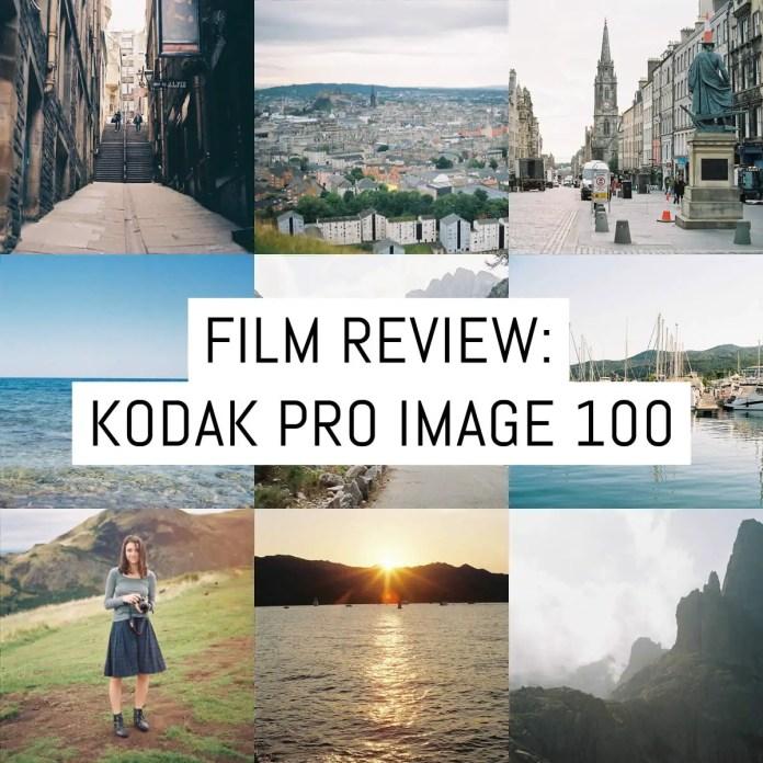 Cover - Film Review - Kodak Pro Image 100
