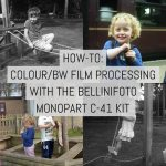 How-to: Colour/BW film processing with the BelliniFoto Monopart C-41 kit