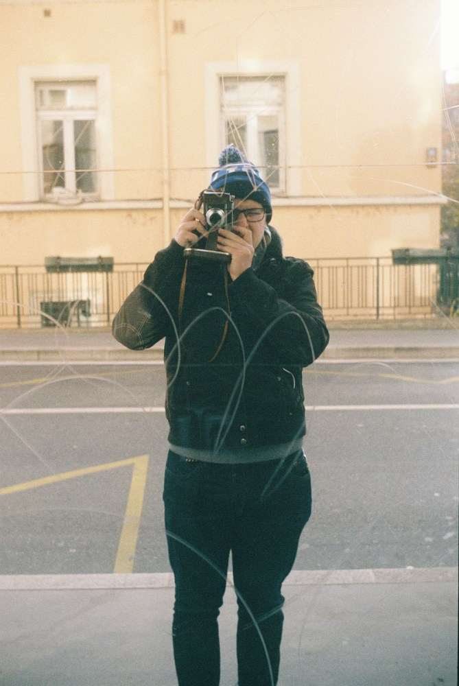 Analog Selfie, Lyon, France - Focasport 1D, Fujifilm Superia X-TRA 400