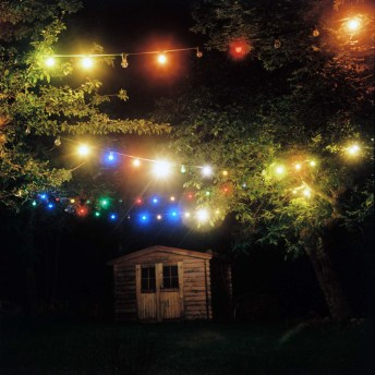 Summer lights - Lomography Lubitel 2, Kodak Portra 400
