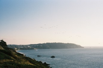 Travel - Marshall's Beach San Francisco - Minolta SRT100x, Fujifilm Superia 200